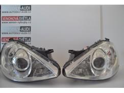 BiXenon světlomety na Mercedes A