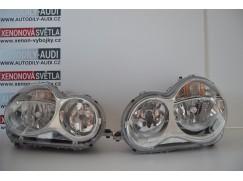 Halogenové světlomety Mercedes C