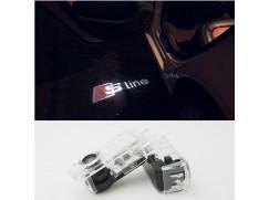 LED logo S-LINE do dveří