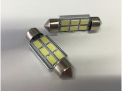 CAN-BUS sufitka T10, 6SMD LED, 39mm